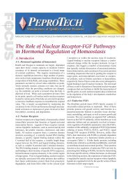 The Role of Nuclear Receptor-FGF Pathways in Hormonal ...