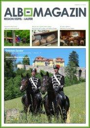 Alb Magazin - Ausgabe Kispel Lauter 2/2015