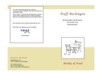 Cocktails alkoholfrei - TREFF Bochingen