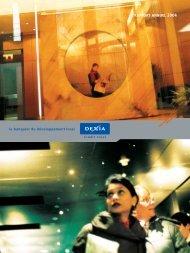 RAPPORT ANNUEL 2004 - Dexia Crédit Local