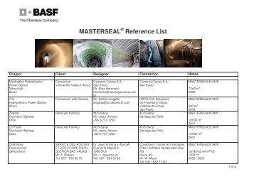 masterseal - TunnelTalk.com