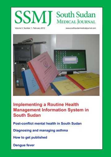 Download Edition as PDF - South Sudan Medical Journal