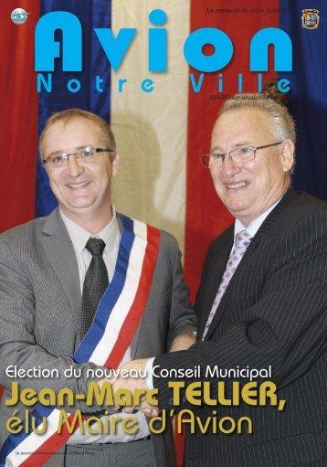 Jean-Marc TELLIER, élu Maire d'Avion