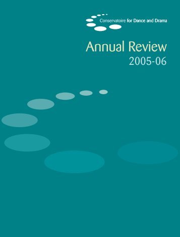 Annual Review - Conservatoire for Dance and Drama