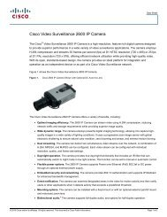 cisco – civs – 2600 h.264 ip camera - VIS Security