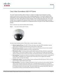 cisco – civs – 2621v h.264 vandal resistant dome - VIS Security