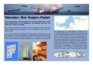 Werden Sie Kojen-Pate! - Moving Baltic Sea