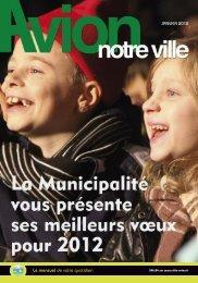 Le mensuel de votre quotidien JANVIER 2012 - Avion