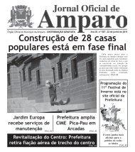 Jornal Oficial - 22 junho 2011 - Prefeitura Municipal de Amparo