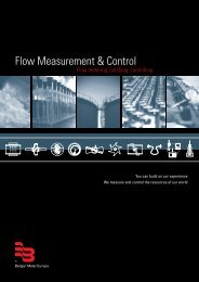 Flow Measurement & Control - Bennes Power Line