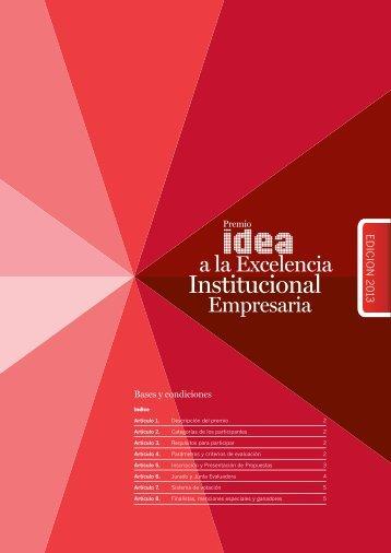 Bases y condiciones - IDEA
