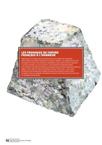 Rapport d'activités Produits Laitiers/Produits Traiteur 2012