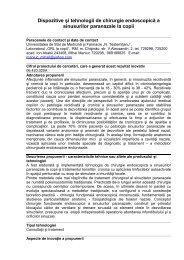Dispozitive şi tehnologii de chirurgie endoscopică a sinusurilor ...