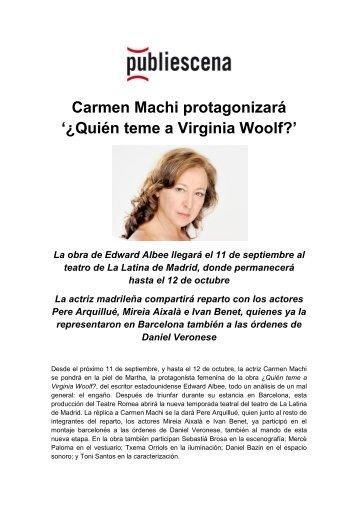 ¿Quién teme a Virginia Woolf? - Publiescena
