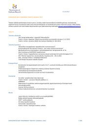 kansainvälisen toiminnan tiedote lokakuu 2012 1 (10) - Nuorisoseurat