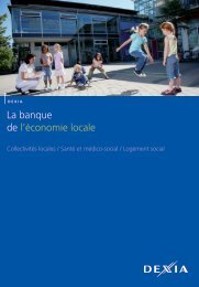 La banque de l'économie locale - Dexia Crédit Local