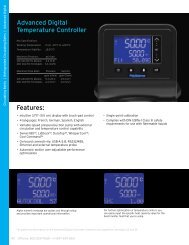 Features: Advanced Digital Temperature Controller - Eurokoc