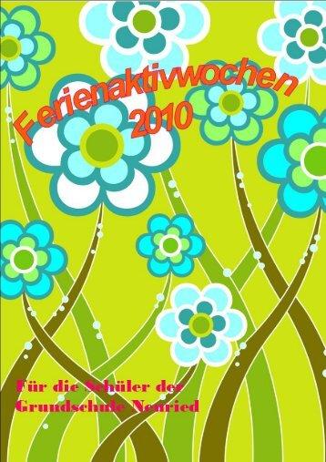 Page 1 Page 2 Für die Schüler der Grundschule Neuried, 1. Klasse ...