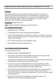 Protokoll 08.09.2011 - Katholisch in Steinfurt