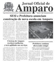 18/01/2013 - Prefeitura Municipal de Amparo - Governo do Estado ...