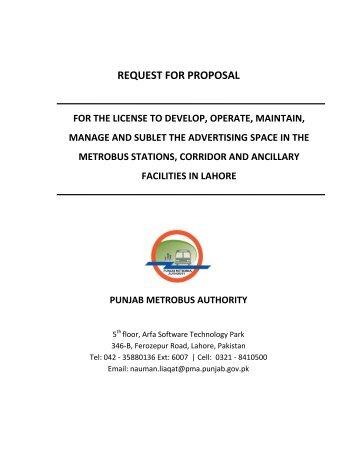 TO LET - ppra services portal - Punjab