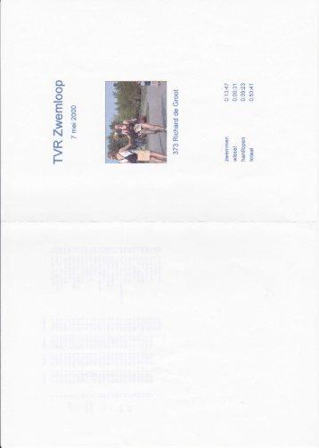 1999 - triathlon-uitslagen