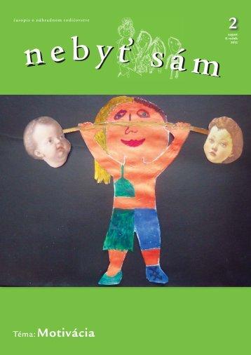 NEBYT SAM 2_2012_na web.indd - Asociácia náhradných rodín