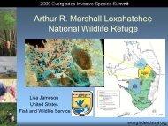 Loxahatchee National Wildlife Refuge - Everglades Cooperative ...