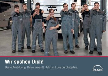 MAN Schweiz Ausbildung Booklet