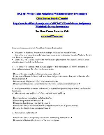 UOP HCS 325 Week 5 Organizational Structure Presentation NEW
