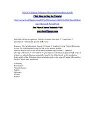 HCS 478 Ethical Dilemmas Microsoft PowerPoint (UOP)/HCS478paperdotcom