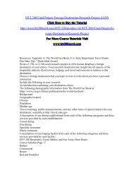 HTT 200 Final Project Foreign Destination Research Project (UOP)/HTT200nerddotcom