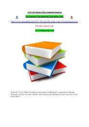 ACC 201 Week 5 DQ 1 Financial Analysis/indigohelp