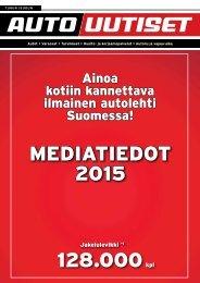 Turun seudun Autouutiset - MEDIATIEDOT 2015 128.000