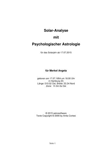 Astrologe Peter Schmid