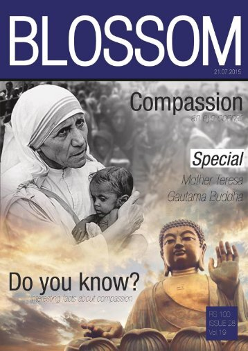 Blossom - Compassion - by Sanjana Harikumar