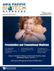 Preventative and Translational Medicine