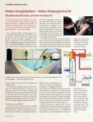 Hoher Energiebedarf - Berndt-Enersys