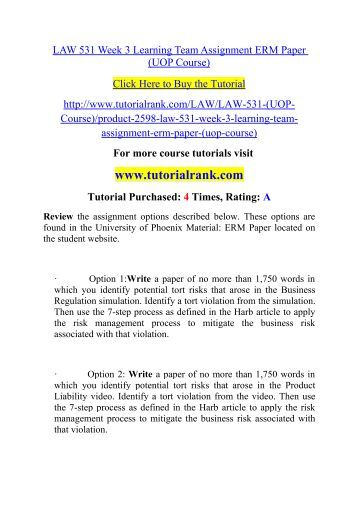 Employment law uop bus415 essay