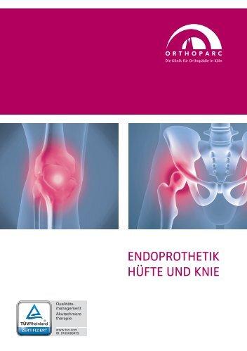 Endoprothetik Hüfte und Knie