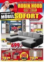 Freu Dich auf neue Möbel - sofort und extra günstig!