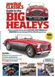 The Practical Classics Guide to the Big Healeys