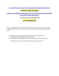 ACC 546 Week 4 Learning Team Assignment Audit / acc546paperdotcom