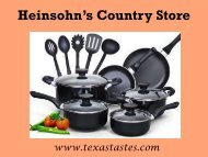 A leading supplier of different types of kitchen accessories-Texastastes.com