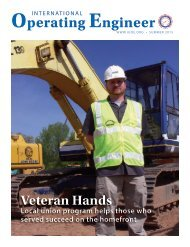International Operating Engineer - Summer 2015