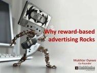 Why reward-based advertising Rocks