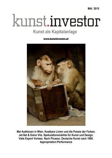 KUNSTINVESTOR Heft Nr. 5 [AUSGABE MAI 2015]