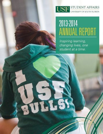 USF Student Affairs Annual Report