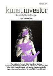 KUNSTINVESTOR Heft Nr. 2 [AUSGABE FEBRUAR 2015]