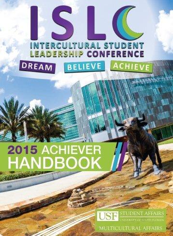 Intercultural Student Leadership Conference Brochure